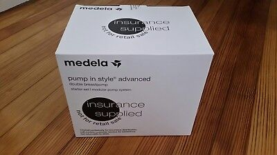 Medela Pump In Style Advanced Double Breast Pump(Insurance Supplied) NEW