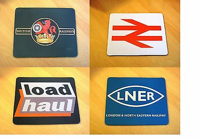 Train Mouse Mat | British Rail | BR | Ideal Gift | Railway Mouse Mats