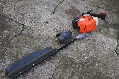 Long Professional Husqvarna  Petrol Hedge Cutter / Trimmer