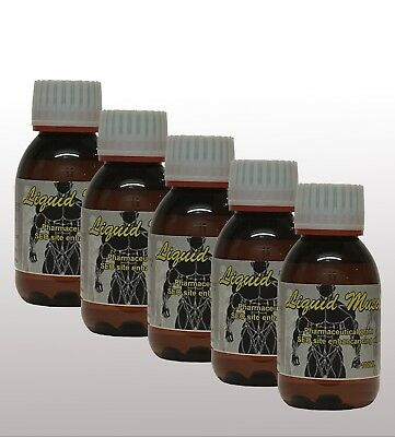 5 x 100ml  Liquid Muscle Synthol Posing Oil
