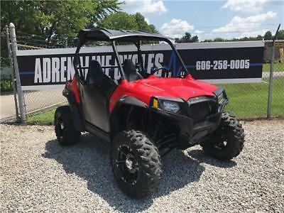 2013 Polaris RZR 800 S  2220 Miles Red  800 Automatic