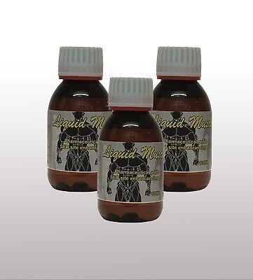 3 bottles Liquid Muscle 100ml Synthol Posing Oil