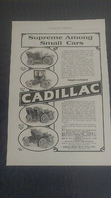 Rare Cadillac C.1900's To 1960's Advertising Collection 200 Pieces!