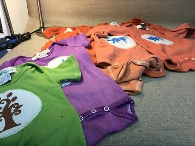 12 Lil Fishy 12 Month One Piece Great Condition 10 Long Sleeve + 2 Short Sleeve