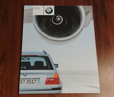 BMW 2000 3 SERIES SPORT WAGON E46 BROCHURE 323i COLLECTIBLE ADVERTISING BIMMER