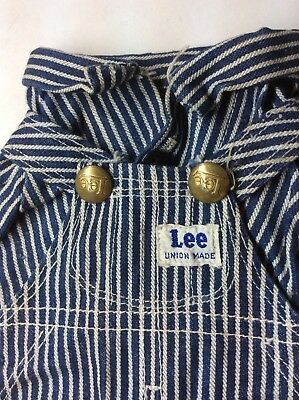 RARE Vintage Buddy Lee Doll Overalls, SANFORIZED UNION MADE