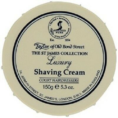 Taylor of Old Bond Street The St James Collection 150g Luxury Shaving Cream Bowl
