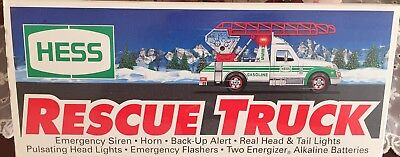 1994 Hess Rescue Truck.  New in box.