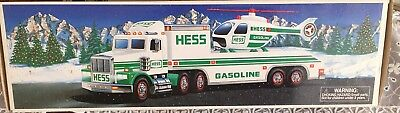 1995 Hess Truck and Helicopter.  New in box.