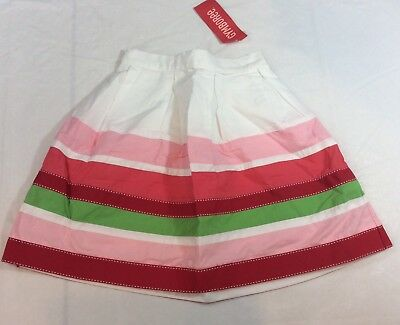 NWT Gymboree Watermelon Picnic Outfit Skirt Top 6 or 7