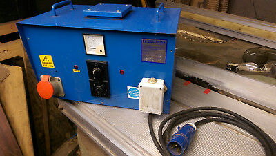 Transwave Converter 10hp/7.5kW Single to 3phase 240v to 415v