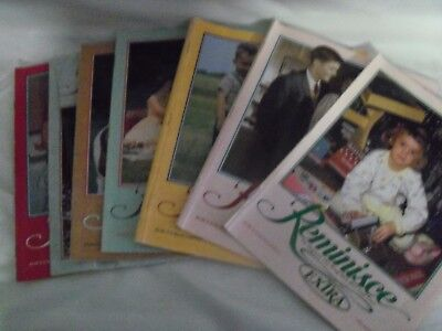 Reminisce Magazine Lot of 7 from 2003