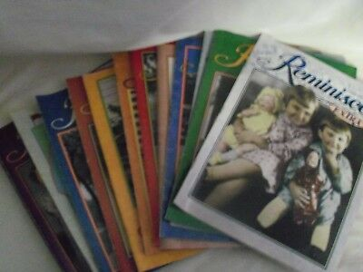 Reminisce Magazine Lot of 12 from 2005
