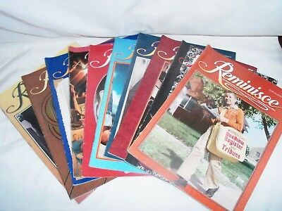 Reminisce Magazine Lot of 10 from 2006