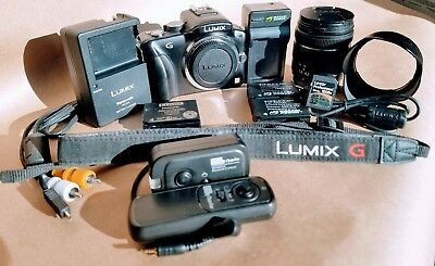 Panasonic LUMIX DMC-G3K 16.0MP Digital Camera - Black (Kit w/ ASPH 14-42mm Lens)