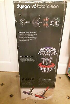 Dyson V6 Total Clean with Top Clean Kit - Brand New Sealed Box with warranty