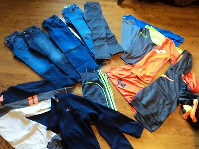 Lot of Boys Clothing Sz. 10 (M) a total of 14 Items; Gap, Under Armour, Adidas