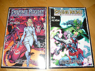 image Comic: Divine Right No 1 / 2 (collected edition) Englisch 1998 first print