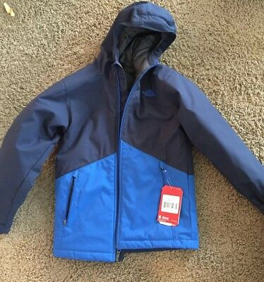 The North Face Kids Apex Elevation Blue Boy's Jacket Coat Size Medium NWT