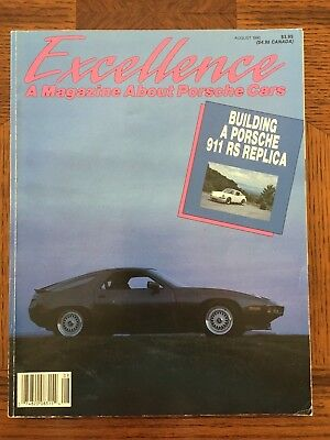 1990 Porsche Excellence Magazine #22 August 1990 RARE!!  Featuring 18pgs on 928