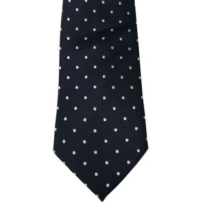 Equetech Polka Dot Show Unisex Accessory Tie - Navy/white All Sizes