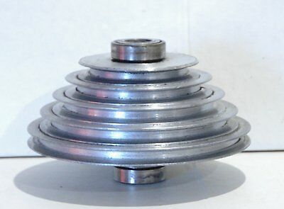 """Walker Turner 20"""" Drill Press 1100 series - Spindle Step Pulley Assembly  #HD7-X"""