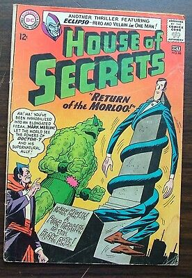 DC Comics House of Secrets No 68 Comic Oct 1964