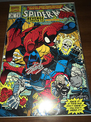 Spiderman 23 signed by STAN LEE