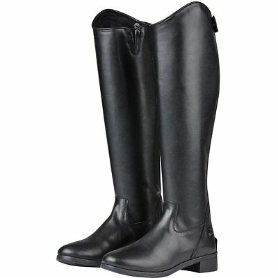 Saxon Syntovia Dressage Womens Boots Long Riding - Black All Sizes