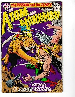 The Atom and Hawkman #39 (1968) 6.5