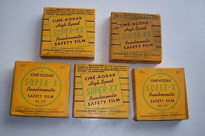 Vintage 16mm film 5 rolls UN used 1947