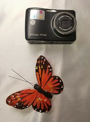 GE RS1200 12.1 MP Digital Camera with Aspheric Zoom Lens FAST SHIPPING