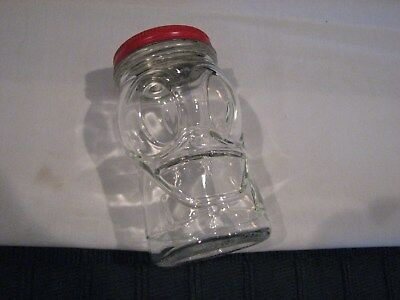 Vintage Glass and Tin Advertising Kiddy Bank, Nash Prepared Mustard - Duck