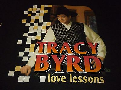 Tracy Byrd Vintage Tour Shirt ( Used Size L ) Very Nice Condition!!!