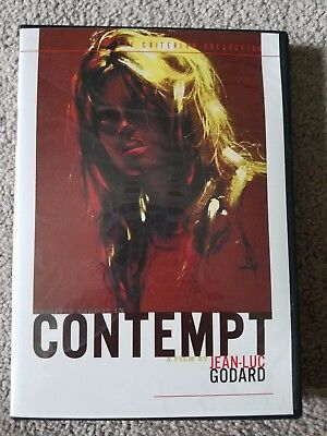 Contempt (DVD, 2002, 2-Disc Set, Criterion Collection Widescreen) - out of print