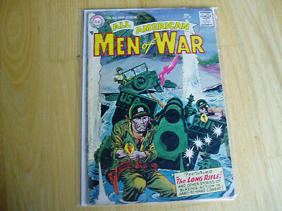 All American Men of War 40 DC Comic Dec 1956 Key Issue BV $37.00 Combat Battle