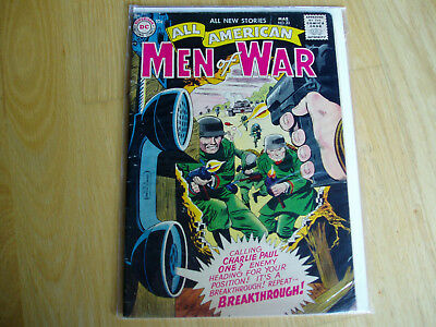All American Men of War 43 DC Comic Mar 1957 Key Issue BV $52.50 Combat Battle
