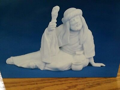 Avon Nativity Collectibles THE POOR MAN White Porcelain Figurine Mint in Box