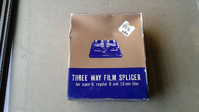 Film splicer -  8mm, 16mm