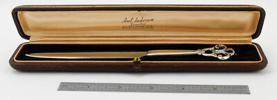 Superb Cohr Danish Sterling Boxed Letter Opener Nm