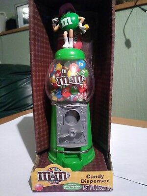 M&M'S  M&M CANDY DISPENSER/COIN BANK- NEW IN BOX SUPER HARD to FIND