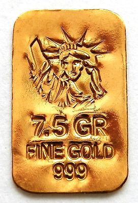 GOLD APPROX 1/2 GRAM (24K PURE GOLD BULLION BAR 999 FINE PURE GOLD g21