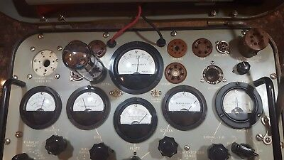 TV-2A/U Military tube tester recapped calibrated and ready to go