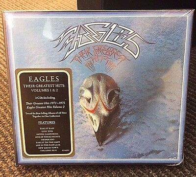 THE EAGLES - Their Greatest Hits, Volumes 1 & 2 Boxed Set CD - 2 Disc Set - NEW