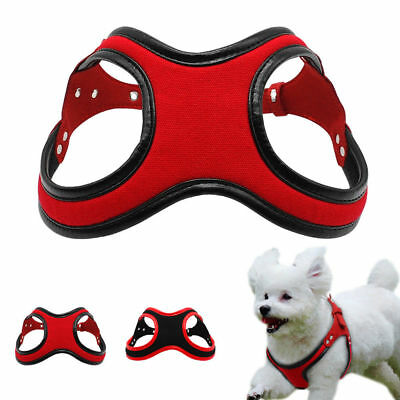 Soft Fleece Dog Harness Padded Vest for Small Doggie Pet Puppy Chihuahua Yorkie