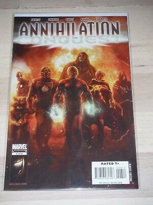 ANNIHILATION CONQUEST 6 VF/Fine 1st full app of The New GUARDIANS OF THE GALAXY