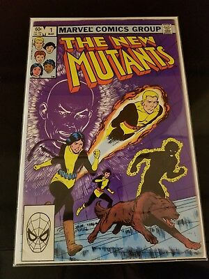 The New Mutants #1 (Mar 1983 Marvel Comics)! SEE SCANS AND PICS! KEY BOOK! WOW!