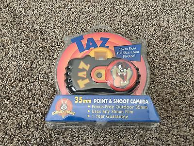 Collectible Looney Tunes Taz 35mm Point And Shoot Camera New Factory Sealed
