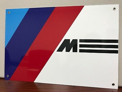 BMW M M3 M5  German Racing Reproduction Garage Sign