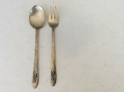 Korean spoon and fork set 800